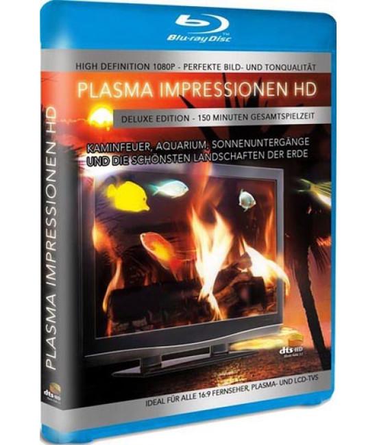 Плазма Камин HD. Часть 1 [Blu-ray]