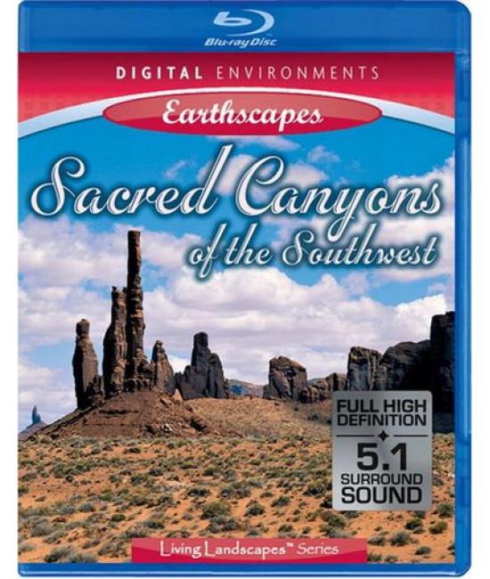 Живые пейзажи: Песчаные каньоны [Blu-Ray]
