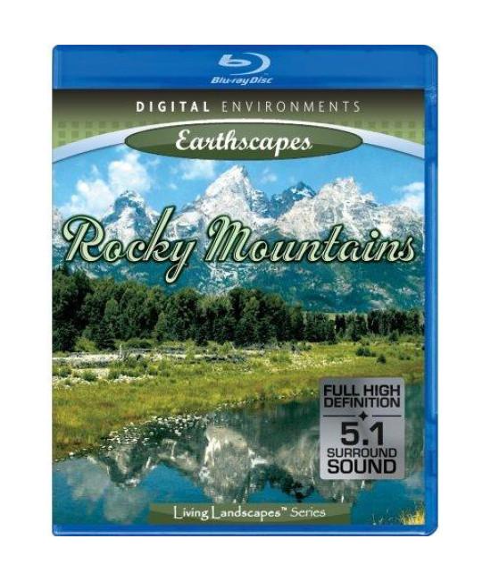 Живые Пейзажи: Скалистые Горы [Blu-Ray]