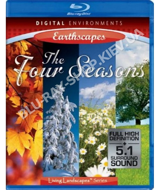Живые Пейзажи: Времена года [Blu-Ray]