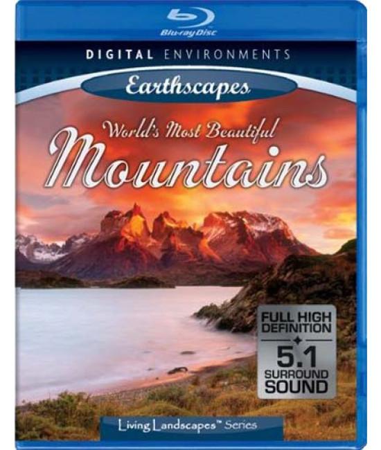 Живые Пейзажи: Красивейшие горы Земли [Blu-Ray]