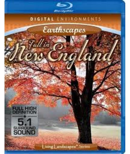 Живые Пейзажи: Осень В Новой Англии [Blu-Ray]
