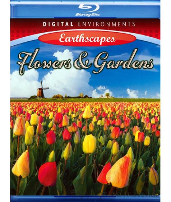 Живые Пейзажи: Цветы и Сады [Blu-Ray]