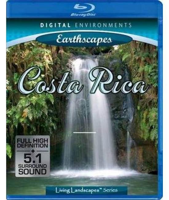 Живые пейзажи Коста-Рики [Blu-Ray]