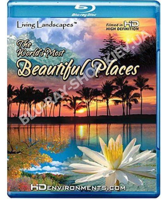 Живые Пейзажи: Красивейшие Уголки Земли [Blu-Ray]