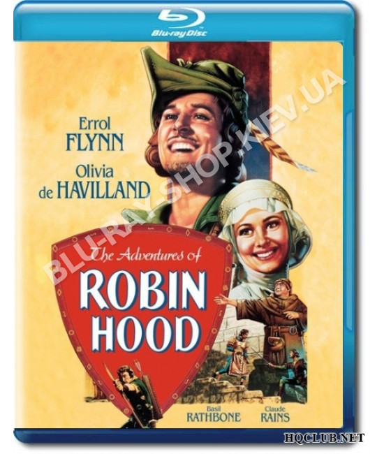 Приключения Робин Гуда [Blu-Ray]