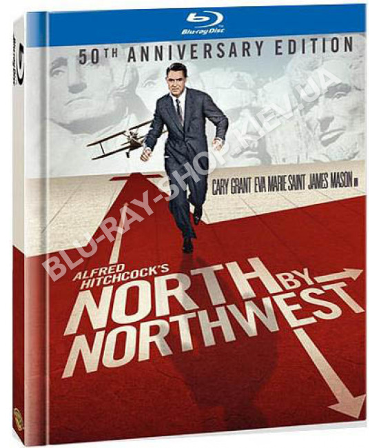 На север через северо-запад [Blu-ray]