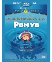 Рыбка Поньо на утёсе [Blu-ray]