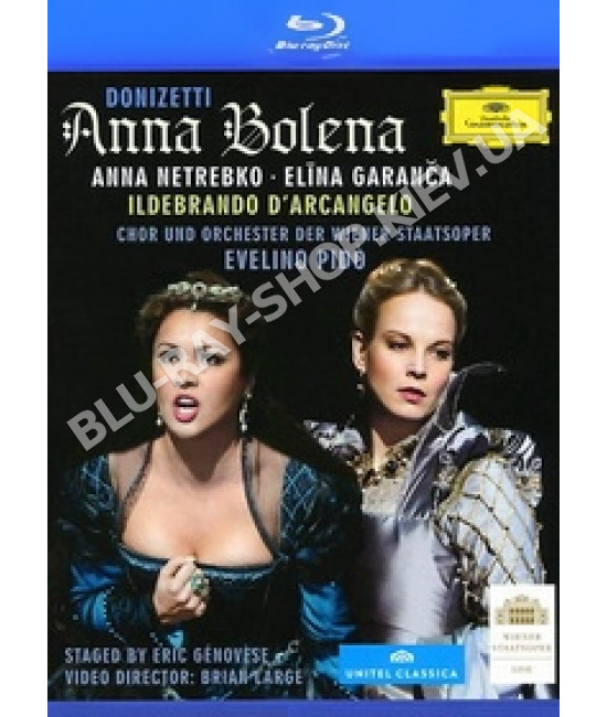 Гаэтано Доницетти - Анна Болейн [Blu-Ray]