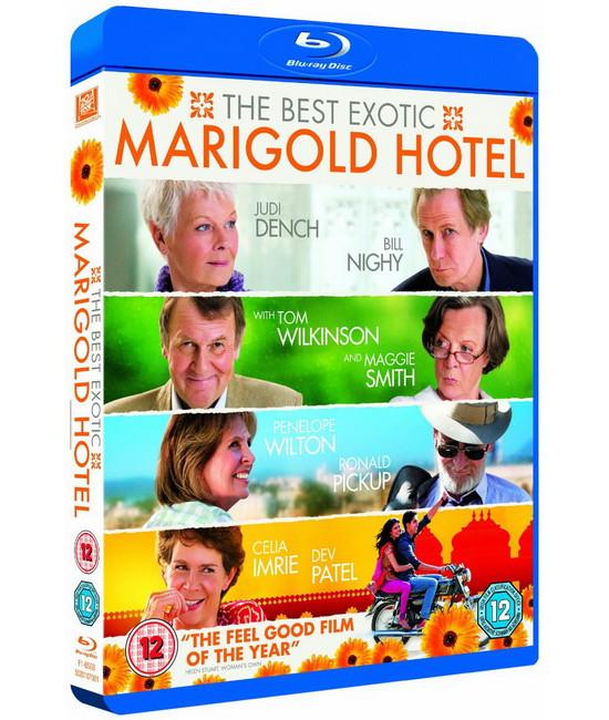 Отель «Мэриголд»: Лучший из экзотических [Blu-Ray]