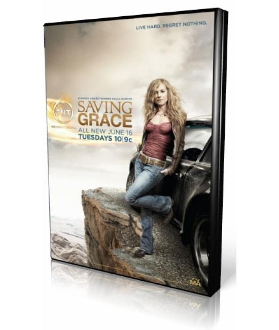 Спасите Грейс (1-3 сезоны) [3 DVD]