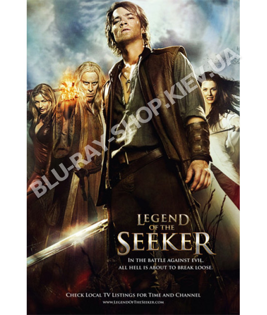 Легенда об Искателе (1-2 сезоны)  [3 DVD]