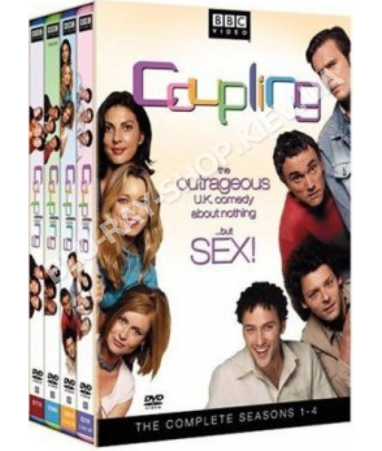 Любовь на шестерых (1-4 сезоны) [4 DVD]