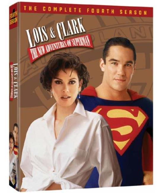 Лоис и Кларк: Новые приключения Супермена (1-4 сезоны) [8 DVD]