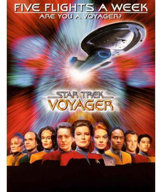 Звёздный путь: Вояджер (1-7 сезоны) [13 DVD]
