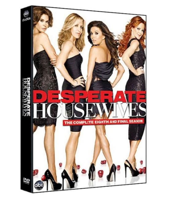 Отчаянные домохозяйки (1-8 сезоны) [12 DVD]