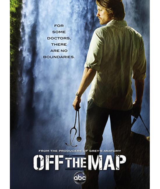 Без координат (Нет на карте) (1 сезон) [1 DVD]