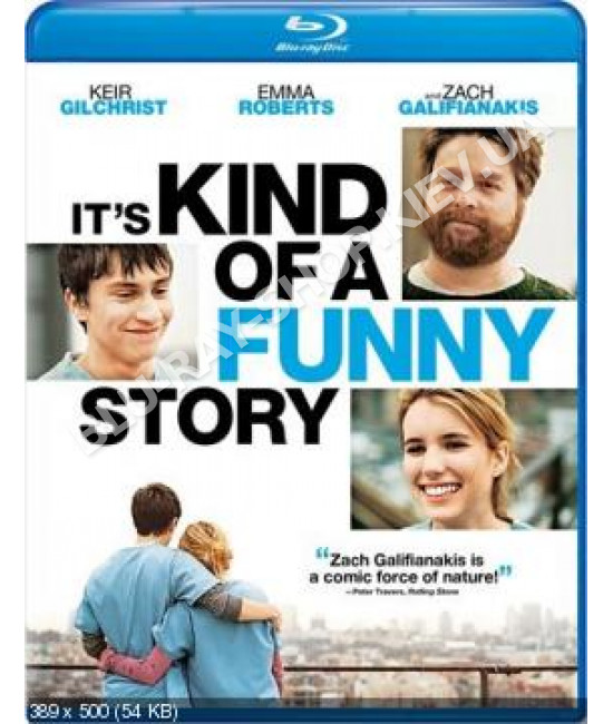 Это очень забавная история [Blu-ray]
