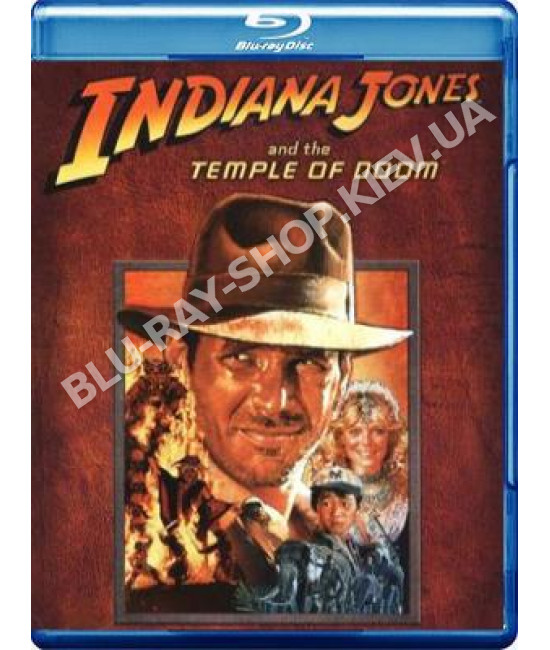 Индиана Джонс и Храм Судьбы [Blu-ray]