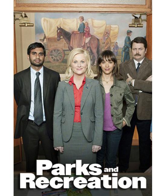 Парки и зоны отдыха (1-4 сезоны) [4 DVD]