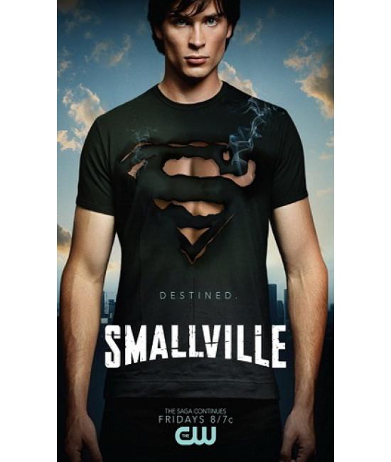 Тайны Смоллвилля (Сезоны 1-10) [ 11 DVD]