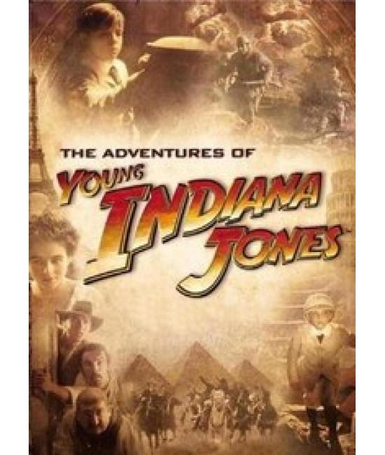 Приключения молодого Индианы Джонса  [4 DVD]
