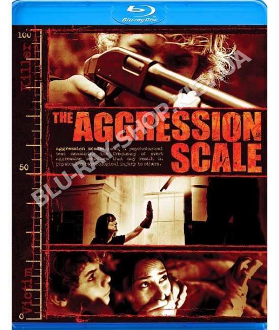 Шкала агрессии [Blu-ray]