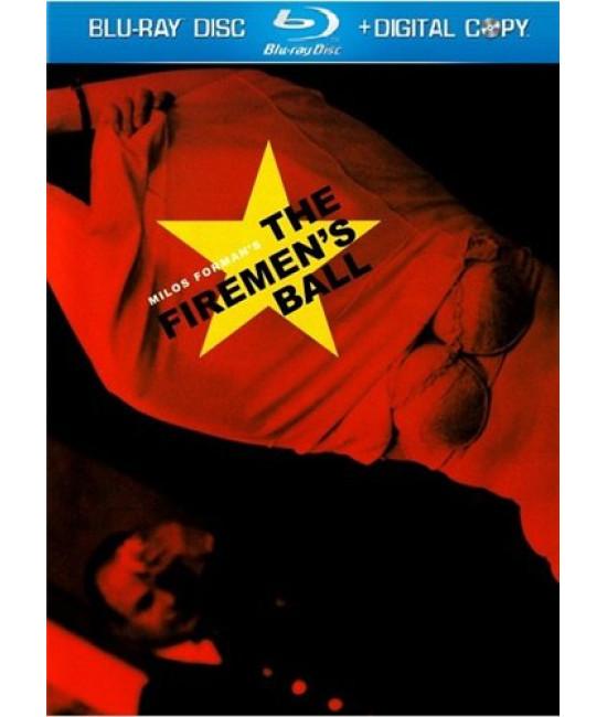 Бал пожарных (Горит, моя барышня) [Blu-ray]