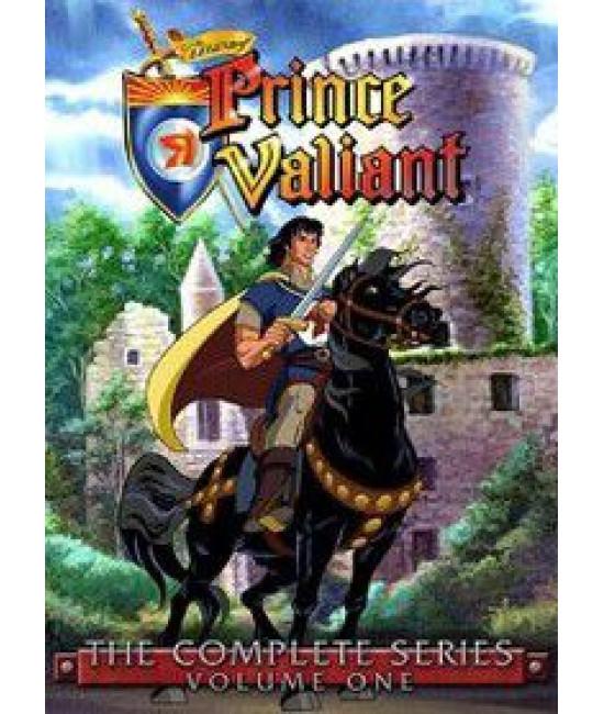 Легенда о принце Валианте (1-2 сезоны) [2 DVD]