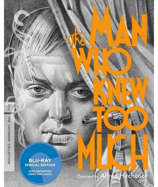 Человек, который слишком много знал [Blu-ray]