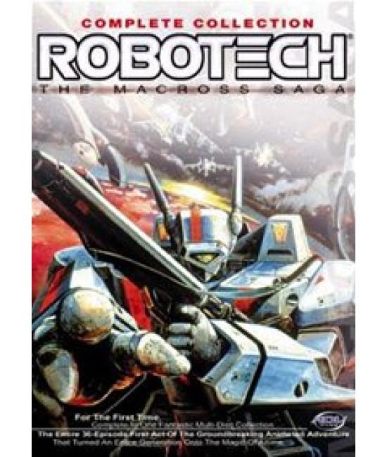 Роботек [3 DVD]