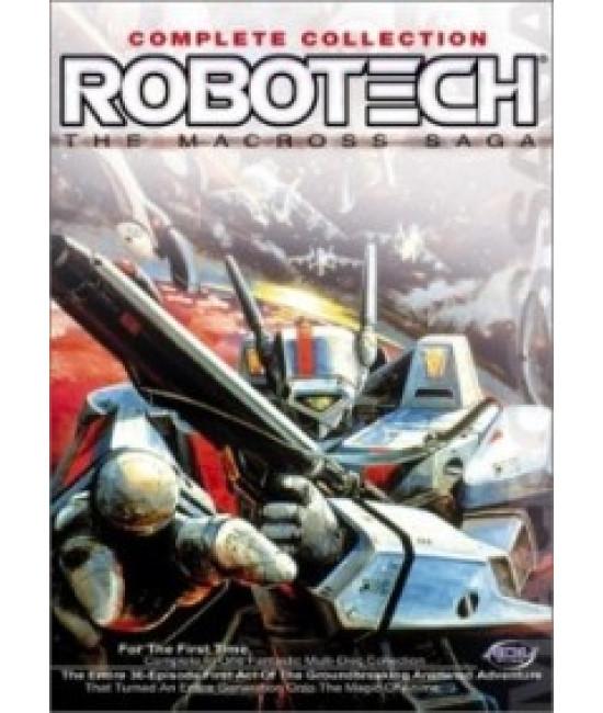Роботех (1-3 сезоны) [3 DVD]