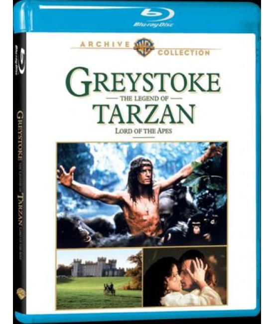 Грейстоук: Легенда о Тарзане, повелителе обезьян [Blu-Ray]