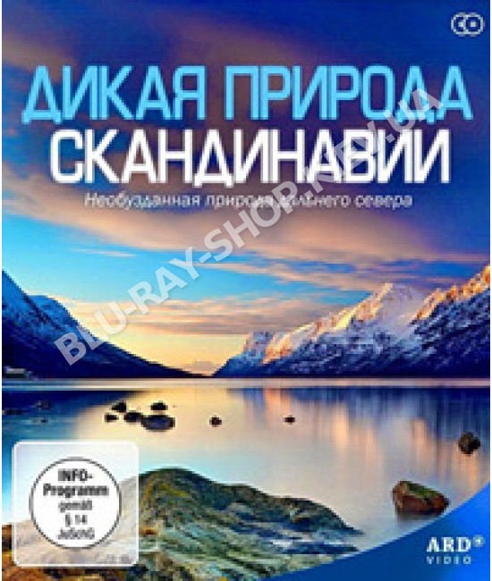 Дикая природа Скандинавии [1 DVD]