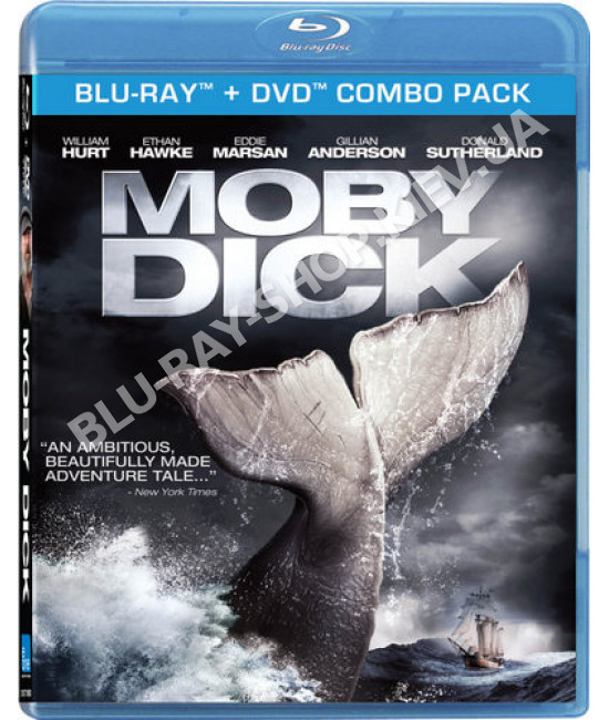 Моби Дик [Blu-Ray]