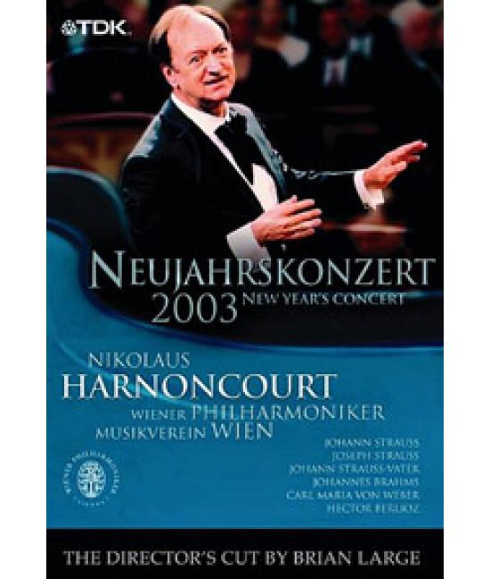 Новогодний концерт Венского филармонического оркестра 2003 [DVD]