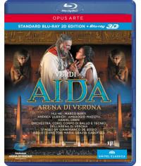 Джузеппе Верди: Аида [3D Blu-ray]