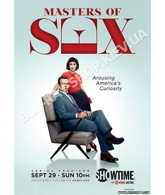 Мастера секса (1-4 сезон) [4 DVD]