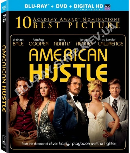 Афера по-американски [Blu-ray]