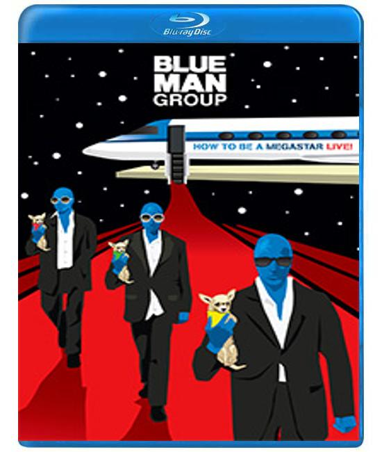 Blue Man Group - How to Be a Megastar Live! [Blu-Ray]