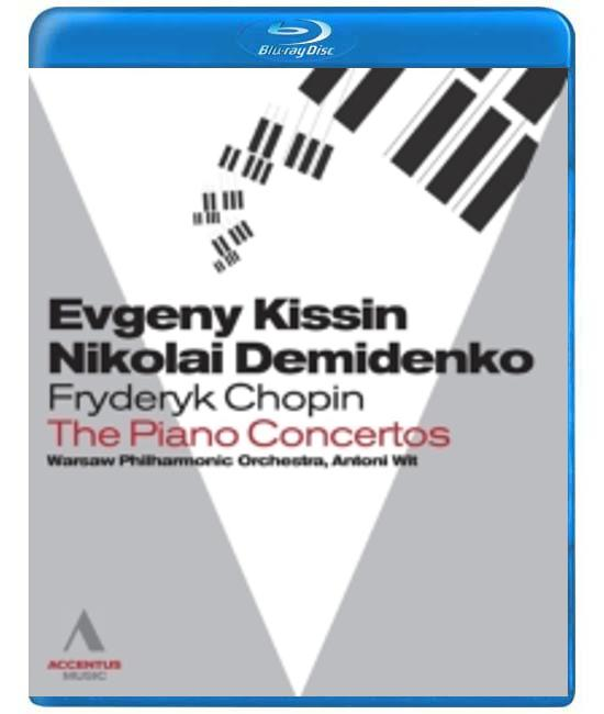 Chopin: Piano Concertos Warsaw [Blu-Ray]