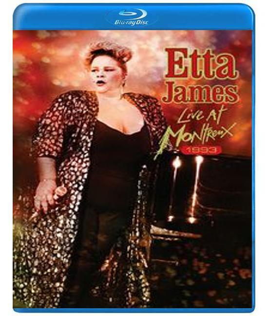Этта Джеймс: концерт на джаз-фестивале в Монтре-1993 [Blu-Ray]