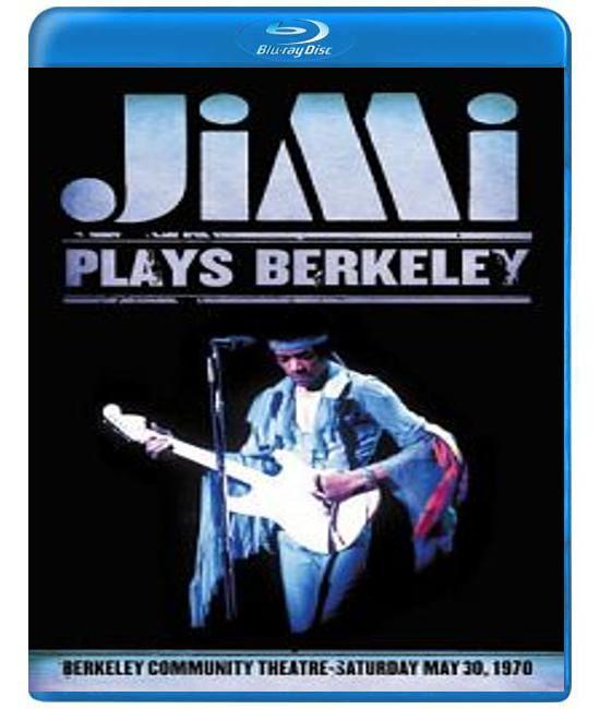 Jimi Hendrix - Jimi Plays Berkeley (1970) [Blu-Ray]