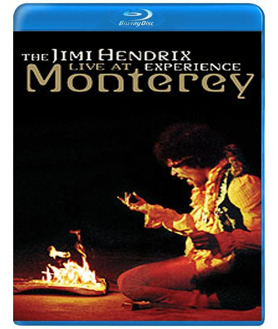 Jimi Hendrix - Experience Live at Monterey [Blu-Ray]