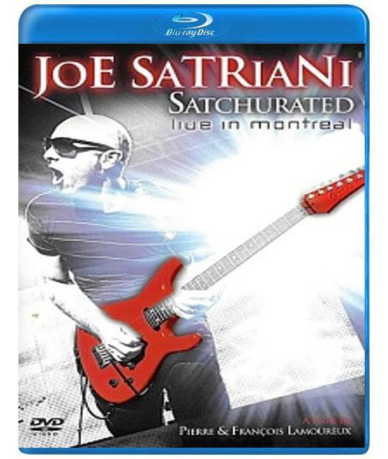 Joe Satriani - Satchurated: Live in Montreal [Blu-Ray]