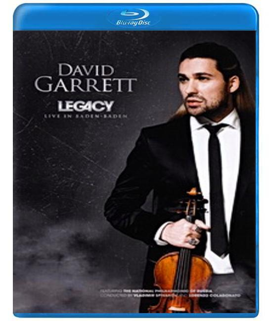 David Garrett - Legacy. Live in Baden-Baden [Blu-Ray]