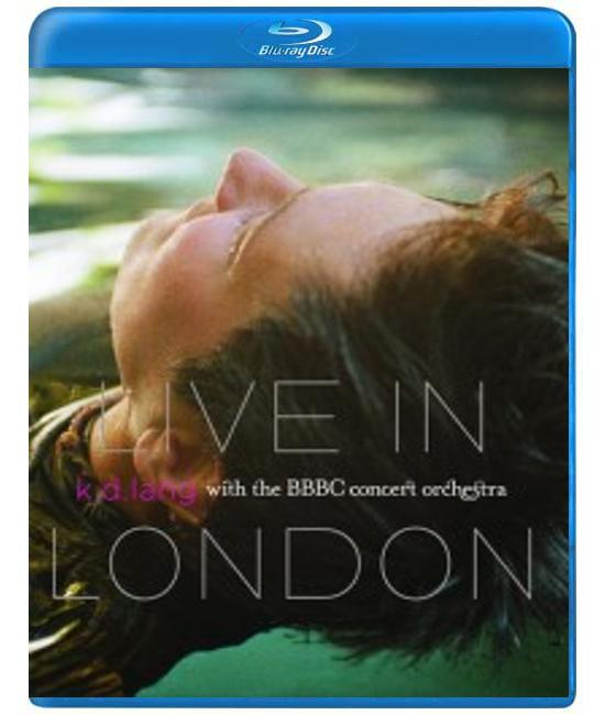 K.D. Lang: Live in London with BBC Orchestra [Blu-Ray]