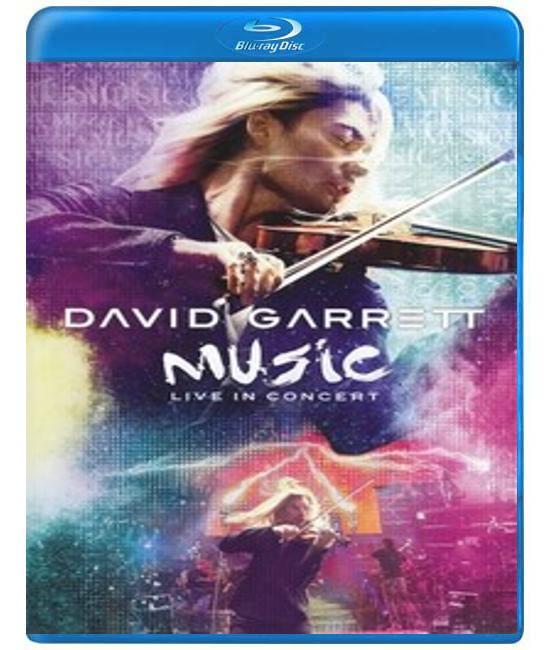 David Garrett - music live in concert [Blu-ray]