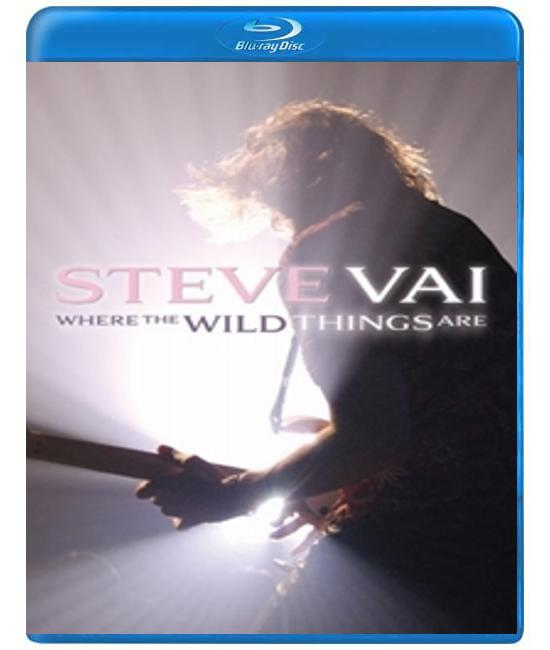 Steve Vai: Where the Wild Things Are [Blu-Ray]