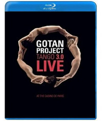 Gotan Project - Tango 3.0 Live At The Casino De Paris [Blu-Ray]